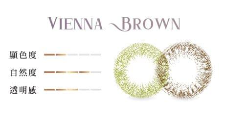 維也納棕顏色組成