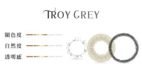 特洛伊灰顏色組成